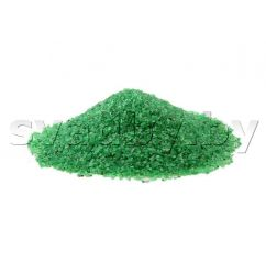 Зеленый песок для песочной церемонии