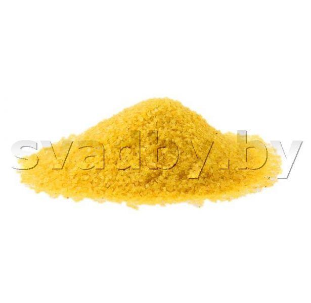 Желтый песок для песочной церемонии